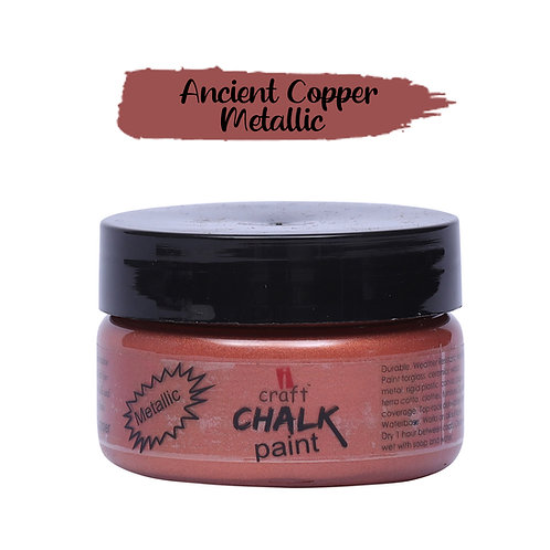 Antique Copper,Metallic Chalk Paint - ICraft