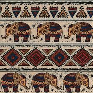 African Pattern - Decoupage Napkin