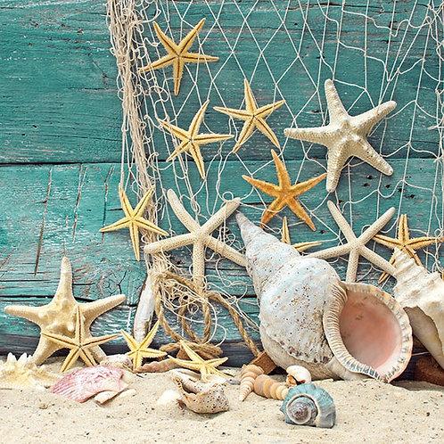 StarFish-Decoupage Napkin