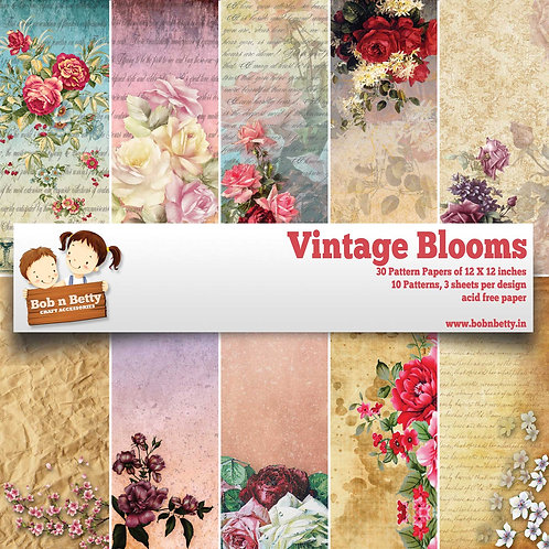 Vintage Blooms - Scrapbook Collections