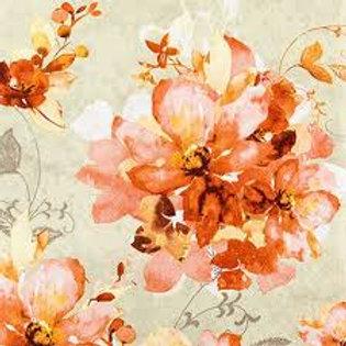 Floral Time - Decoupage Napkin