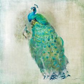 Royal peacock- Decoupage Napkin