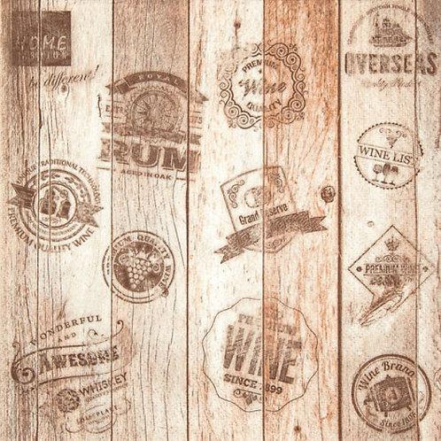 Oak Barrel - Decoupage Napkin