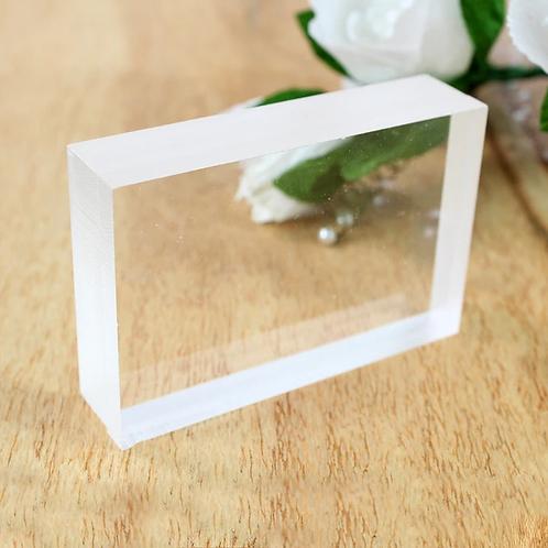 Acrylic Block -3x2 Inches