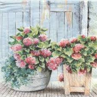 Cottage Hydrangea - Decoupage Napkin