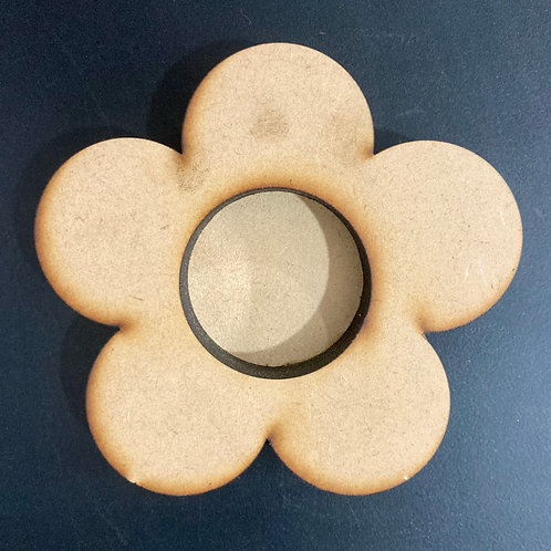 Round Floral Tea Light Holder