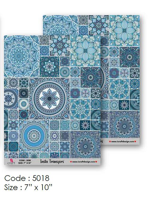 Mosaic Design- ICraft Transfer Paper