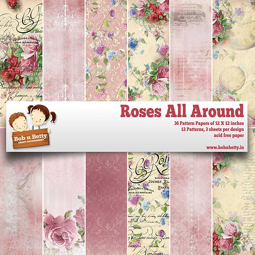 Roses All Around - Scrapbook Collections