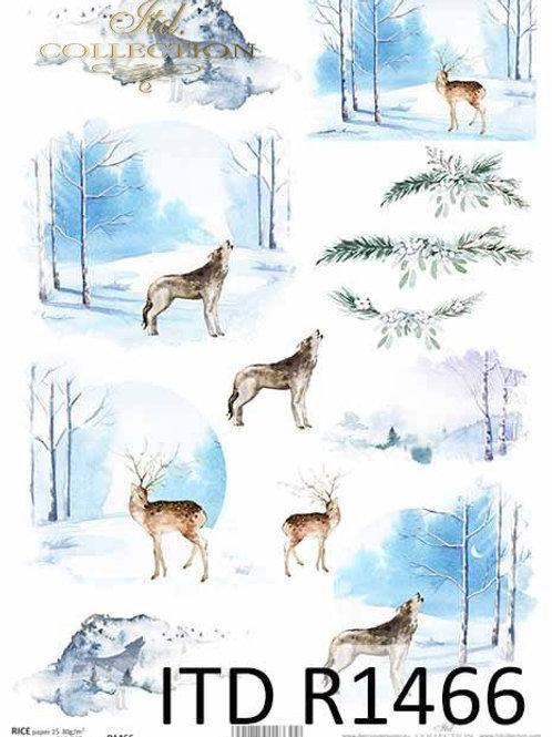 Winter Season- Rice Paper