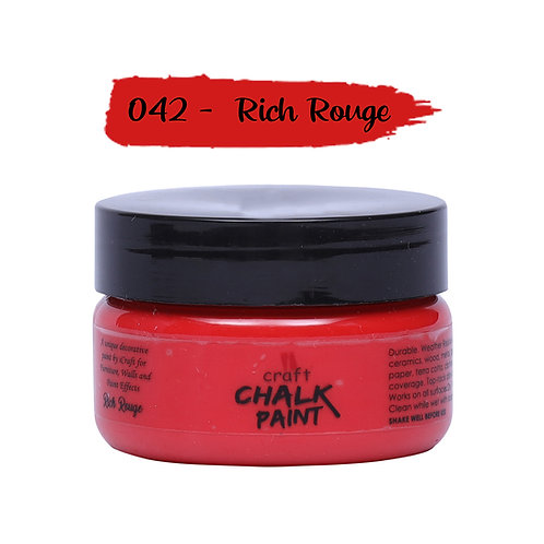 Rich Rouge, Chalk Paint - ICraft