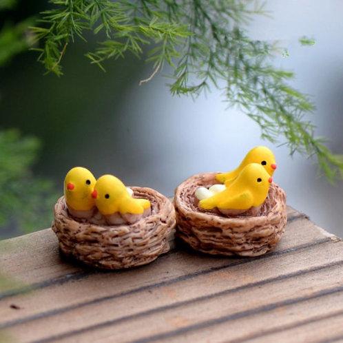 Bird's Nest - Resin Miniature