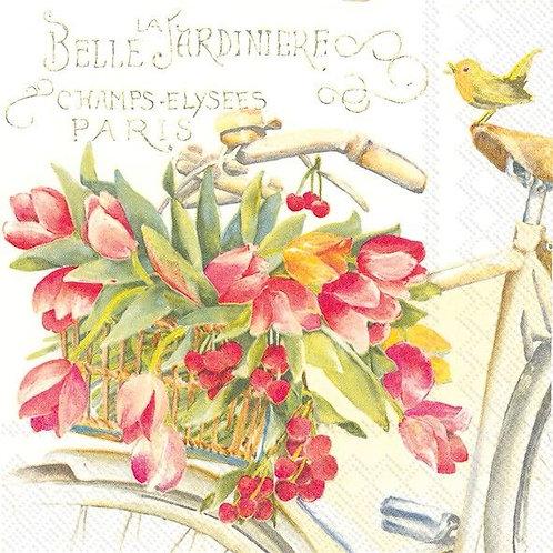 Belle Jardiniere - Decoupage Napkin