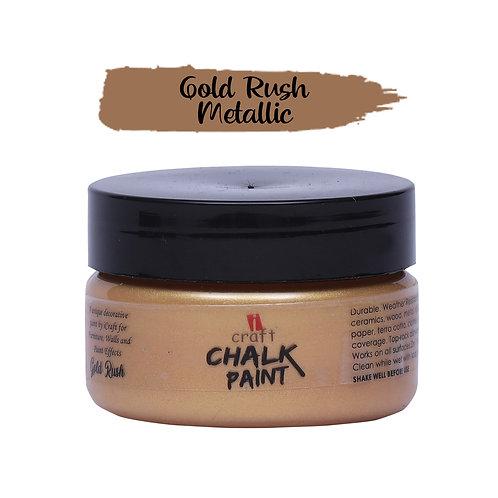 Golden Rush,Metallic Chalk Paint - ICraft