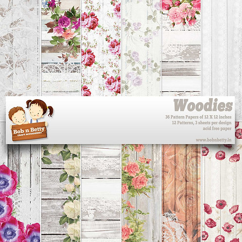 Woodies - Scrapbook Collections