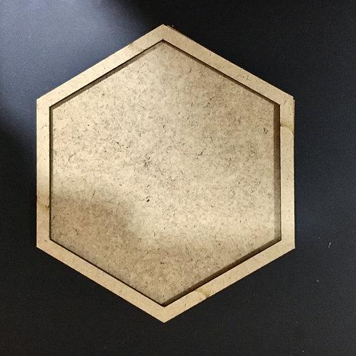 Hexagon Coaster for Resin- Set of 3