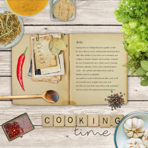 Cooking Time - Decoupage Napkin