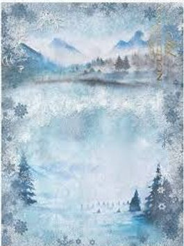 Winter Starlets- Rice Paper