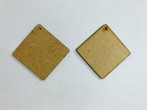 Square Designer Earring Base
