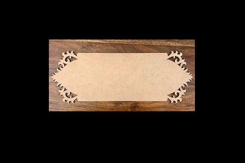 Designer Name Plate (Design 5) - MDF product
