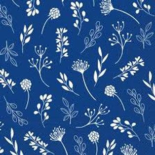Tilda Blue Floral - Decoupage Napkin