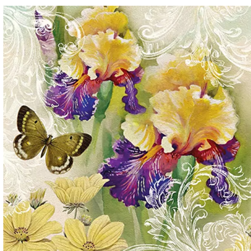 Magic Spring - Decoupage Napkin