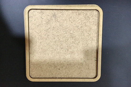 Square Coaster for Resin - Set of 3