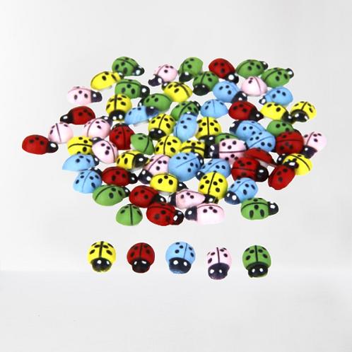 Lady Bug(Set of 10) -Miniature