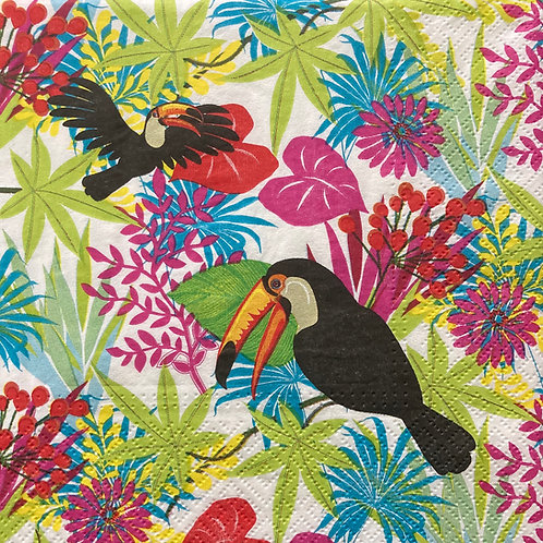 Birds & Colours - Decoupage Napkin