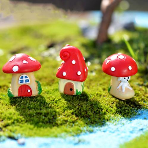 Mushroom House - Resin Miniature