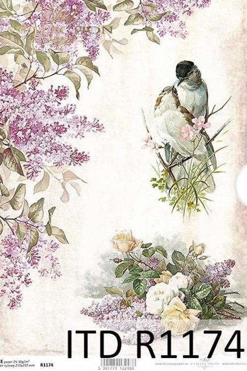 Birdie Tale - Rice Paper
