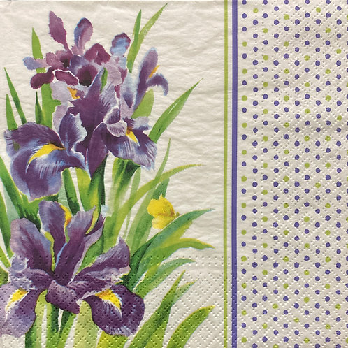 Purple Delight - Decoupage Napkin