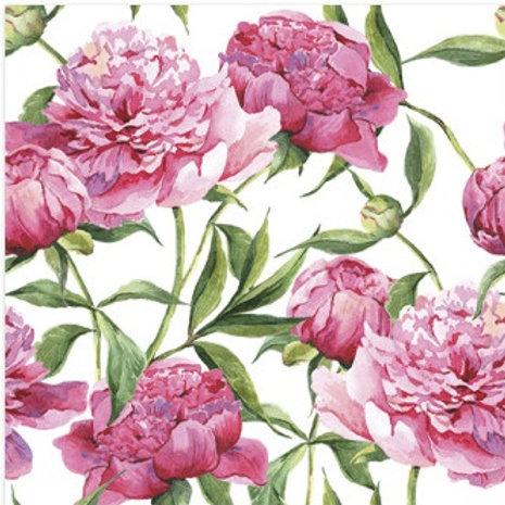 Pink Bloom - Decoupage Napkin