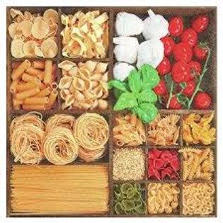 World Of Pasta - Decoupage Napkin