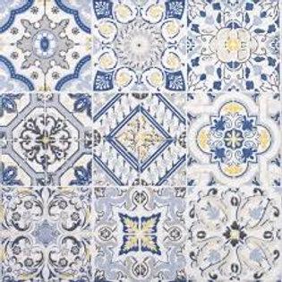 Casa Decor Blue - Decoupage Napkin
