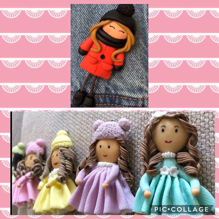 Learn Cutie Clay Dolls With Poonam