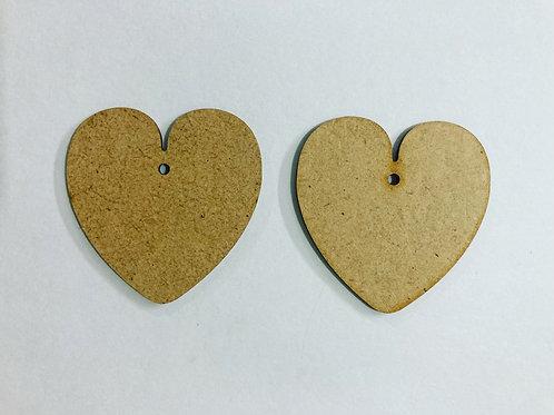 Heart Earring Base
