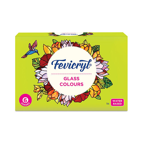 Fevicryl Glass Colours -75 ml