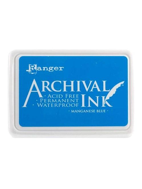 Ranger Archival Ink - Manganese Blue