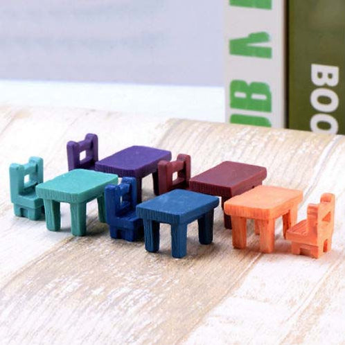 Table Chair Set- Resin Miniature