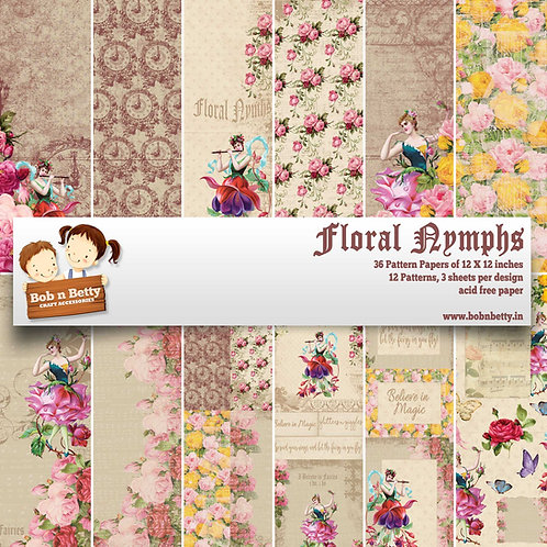 Floral Nymphs - Scrapbook Collections