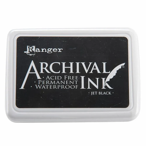Ranger Archival Ink - Jet Black