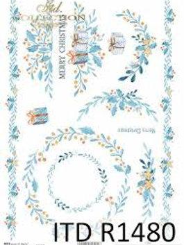 Floral Greetings - Rice Paper