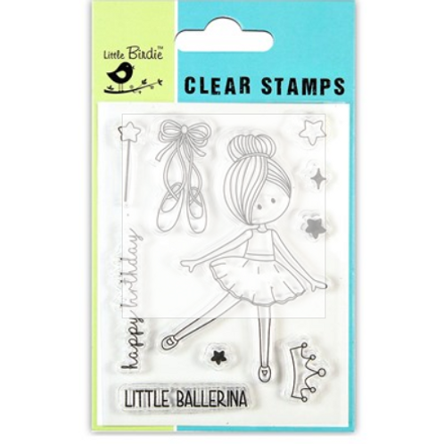 Little Ballerina - Little Birdie Clear Stamp