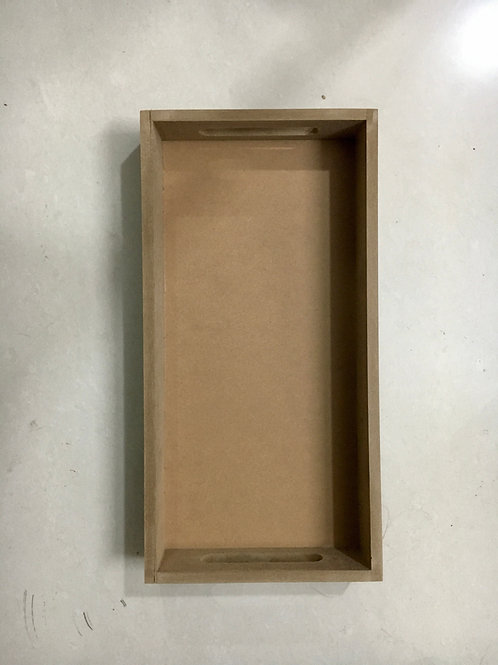 Rectangular MDF Tray - 12x6