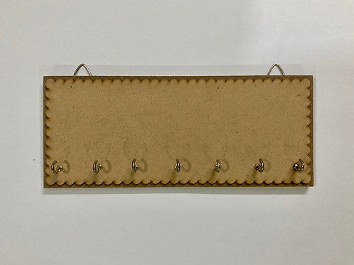 Designer Holder With 7 Hooks - MDF product