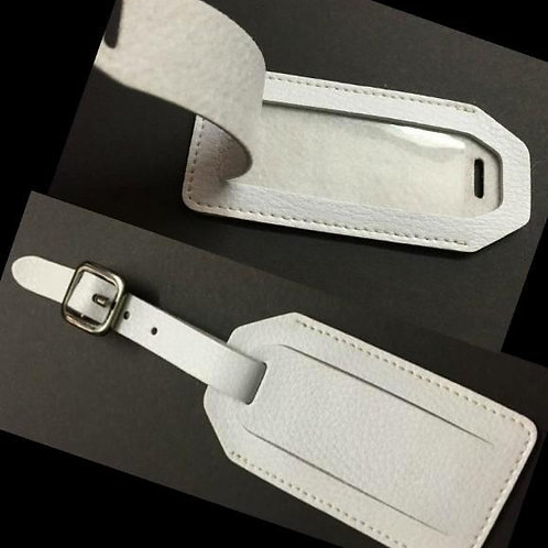 Luggage Tag - Faux Leather