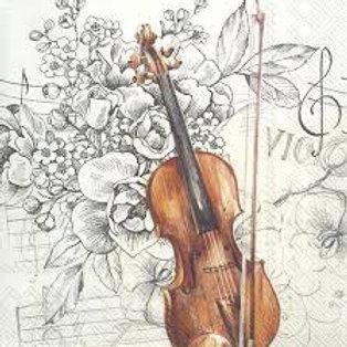 Bella Musica- Decoupage Napkin