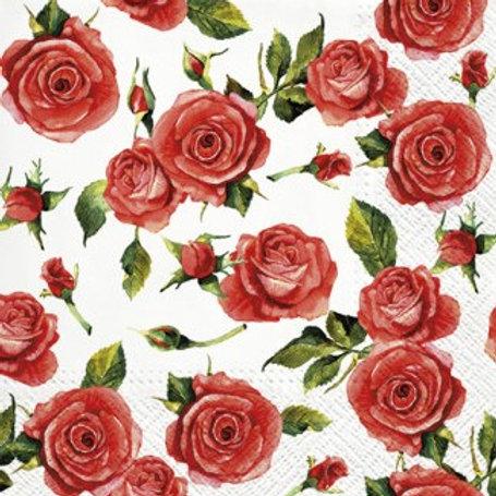 Roses - Decoupage Napkin