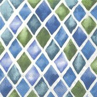 Loanna Blue - Decoupage Napkin