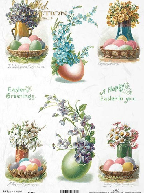Easter is Here- Rice Paper